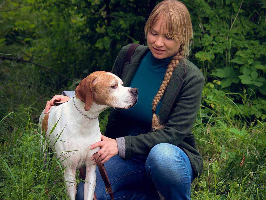 Allevamento e addestramento cani da caccia: la social media manager maria korchagina